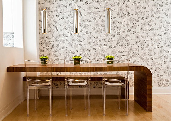 Modern-curved-Dining Table