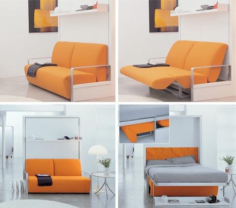 Wallbed cum Sofa